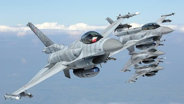 Zupełnie jakbyś latał F-16. Niezwykły film udostępniony przez wojsko
