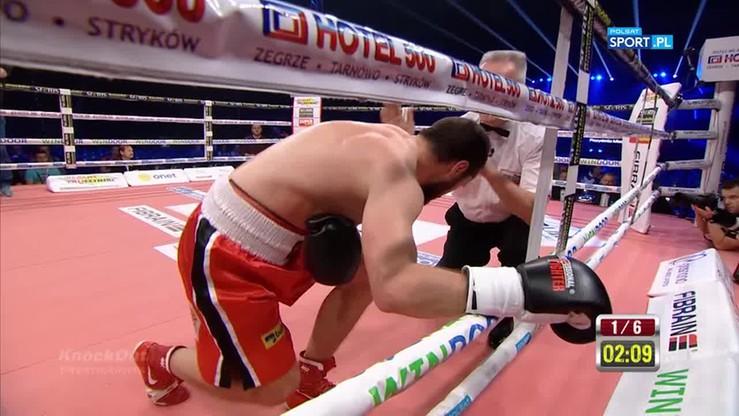Aleksander Strecki - Andrei Abramienka. Skrót walki