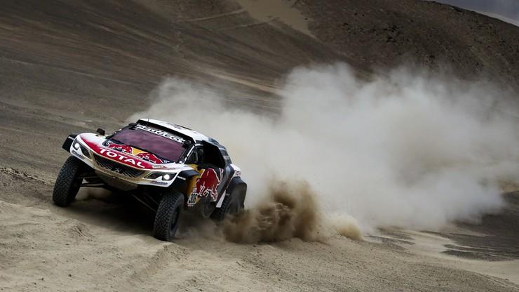 Rajd Dakar: Loeb zwycięzcą czwartego etapu, wypadek Sunderlanda