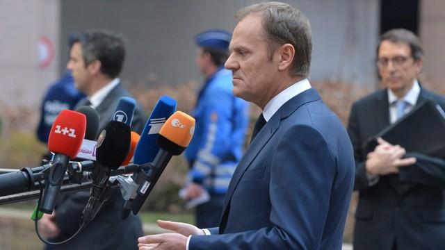 Tusk apeluje o jedność w kwestii sankcji wobec Rosji
