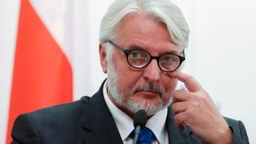 16-09-2016 09:54 Waszczykowski: wkrótce przedstawię dokumenty dotyczące organizacji wizyty w Katyniu w 2010 r.
