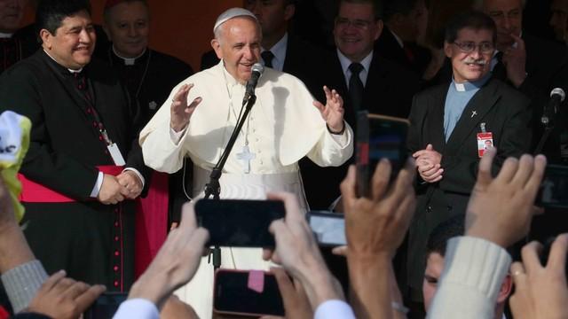 Paragwaj: Franciszek odprawił mszę w duchowej stolicy kraju