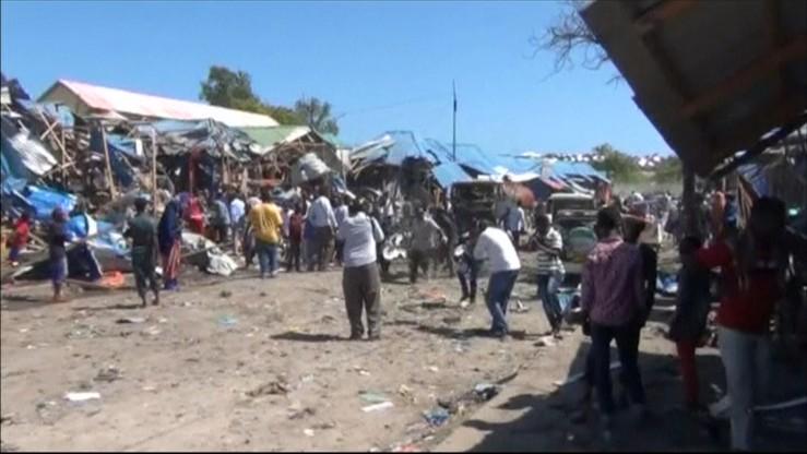 Zamach w Mogadiszu. Co najmniej 10 ofiar