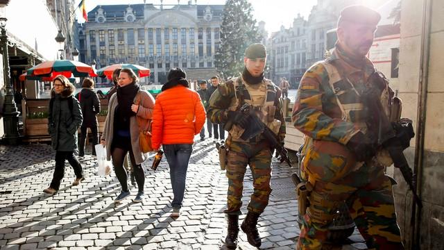 Belgia: obniżono poziom zagrożenia terrorystycznego dla Brukseli