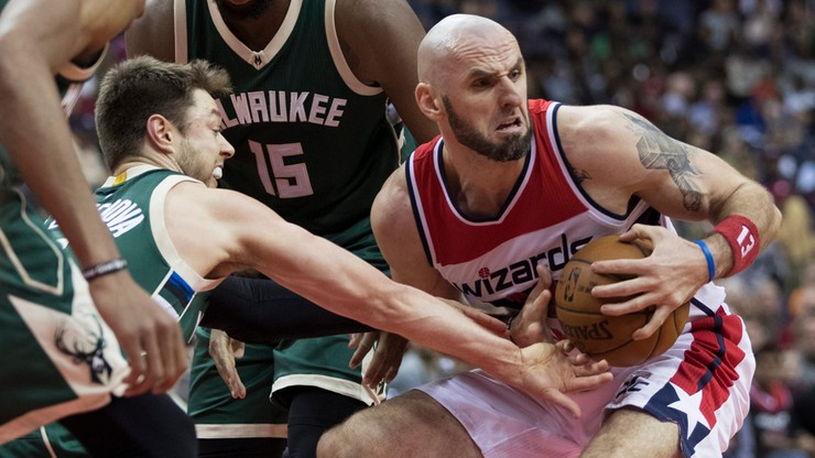 NBA: Gortat zaginął w Miami!