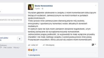 """""""Głębokie ubolewanie"""" za szubienicę dla Tuska. I nowe konto na Facebooku"""