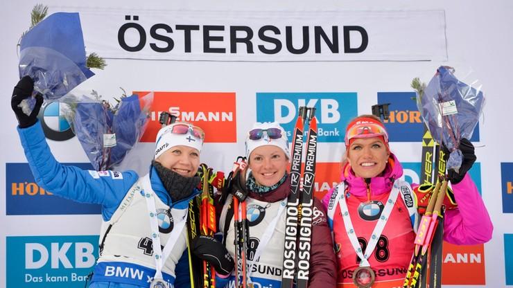 PŚ w biathlonie: Zwycięstwo Habert! Polki daleko...