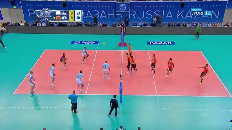 Zenit Kazań – Berlin Recycling Volleys 3:1. Skrót meczu