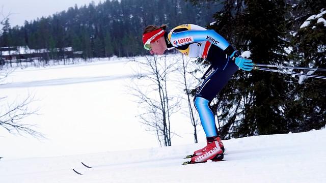 PŚ w biegach - Kowalczyk 18., Bjoergen znów zwycięska