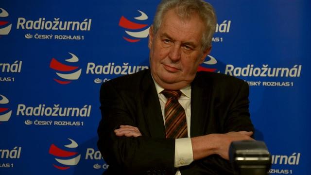 Prezydent Zeman odrzucił kwotowe przyjmowanie uchodźców
