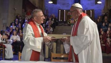 31-10-2016 18:11 Papież w Szwecji. Wspólne wezwanie luteran i katolików do przyjmowania uchodźców