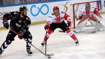 2017-03-12 Ekstraliga hokejowa: Cracovia z GKS Tychy w finale play-off