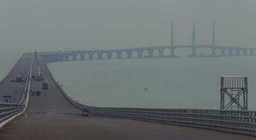 Najdłuższy w Chinach most autostradowy nad wodą bliski ukończenia