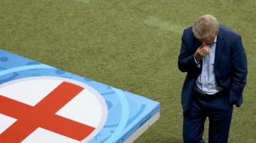 Anglia - Islandia: Roy Hodgson podał się do dymisji