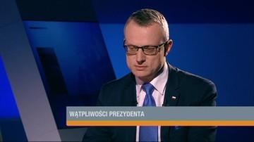 Marek Magierowski o wątpliwościach prezydenta dot. nowelizacji ustawy o zgromadzeniach