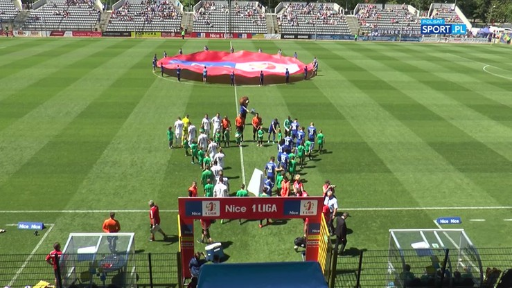 Miedź Legnica - Pogoń Sieldce 3:0. Skrót meczu