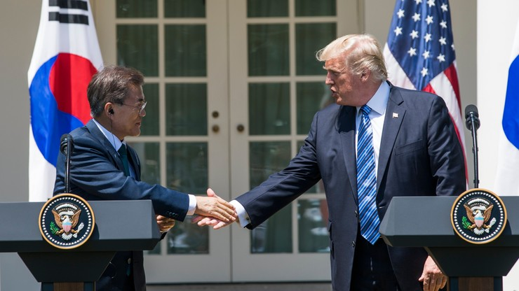 """""""Skończyła się strategiczna cierpliwość"""". Trump o Korei Północnej"""