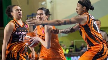 2017-01-05 Euroliga koszykarek: Porażka CCC Polkowice