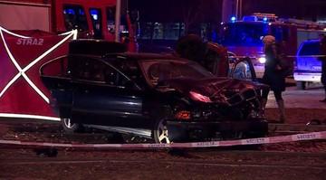 01-01-2016 08:08 Śmiertelny wypadek w Warszawie