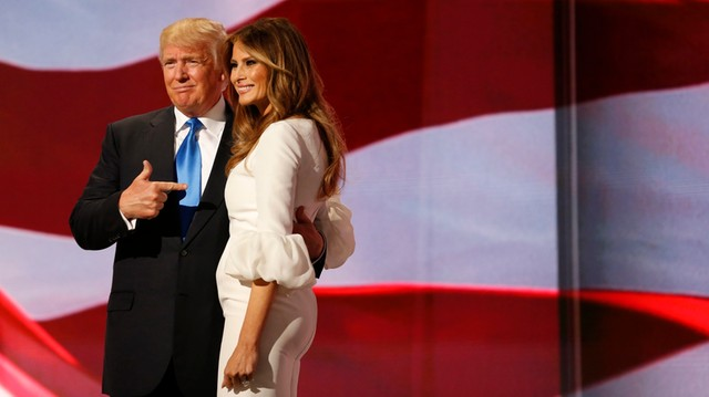 USA: Melania Trump i Giuliani wystąpili na na konwencji Republikanów