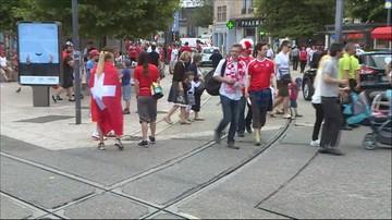 Czerwono-białe Saint-Etienne. Szwajcarscy kibice dominują przed meczem