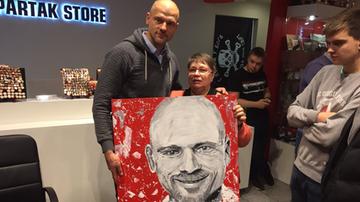 2016-10-31 Kowalewski odwiedził derby Moskwy. Traktują go tam jak bohatera!