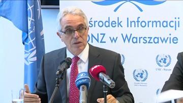 Przedstawiciel ONZ skrytykował działania polskiego rządu.