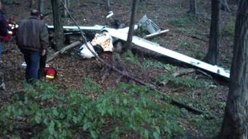 04-10-2015 12:14 Wypadek szybowca w Międzybrodziu Bielskim. Pilot nie żyje
