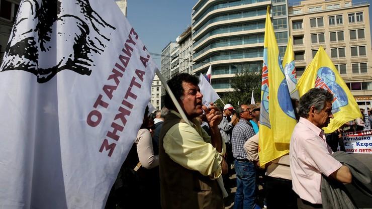 Grecja strajkuje. Zamknięte szkoły, odwołane loty
