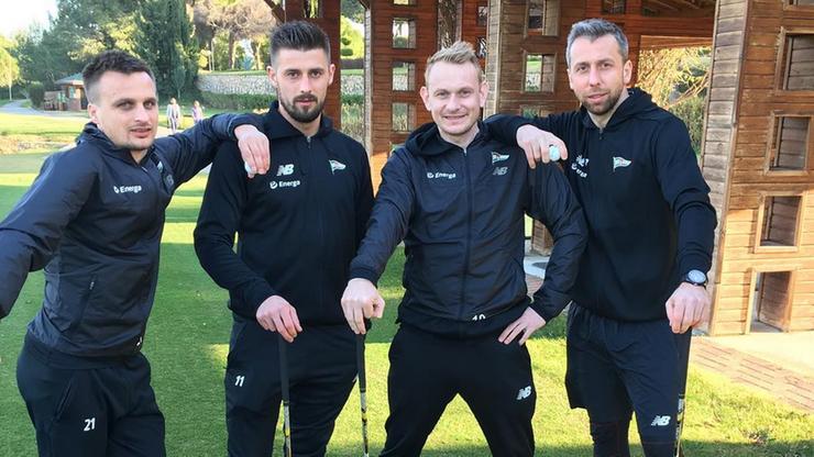 Lechia Golf Club, czyli Mila i Peszko idą śladami Tigera Woodsa