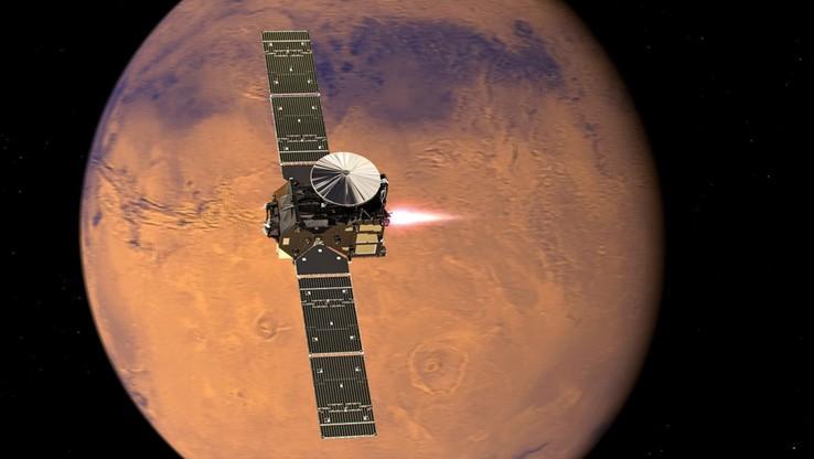 Lądownik misji ExoMars osiądzie na powierzchni Marsa
