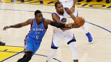 2017-01-19 NBA: Durant znów pogrążył swój były zespół