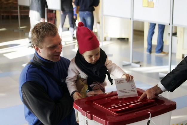 Prokremlowska partia Zgoda wygrała wybory na Łotwie