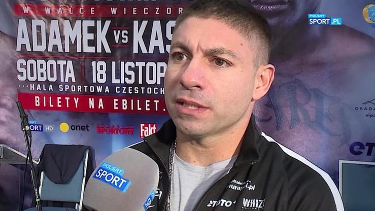 Curren: Adamek jest o wiele szybszy i silniejszy niż był przed ostatnią walką