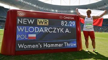15-08-2016 16:36 Rekord świata Anity Włodarczyk! Polka zmiażdżyła rywalki w Rio