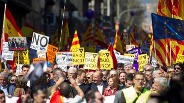 19-03-2017 16:27 Hiszpania: demonstracja przeciwników niepodległości Katalonii