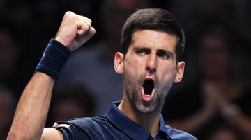 2016-11-13 ATP World Tour Finals: Djokovic rozpoczął obronę tytułu od zwycięstwa
