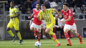 2015-11-25 Sensacja wisiała w powietrzu. Benfica uratowała punkt w Astanie