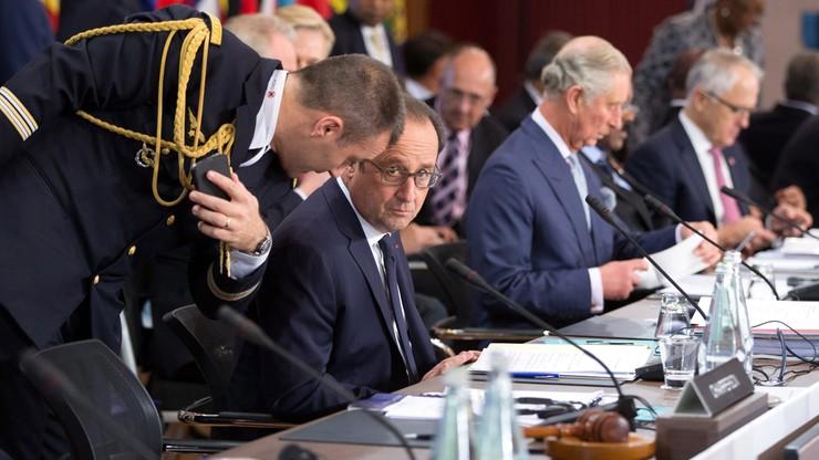 Hollande apeluje do Izby Gmin o zgodę na ataki na Syrię