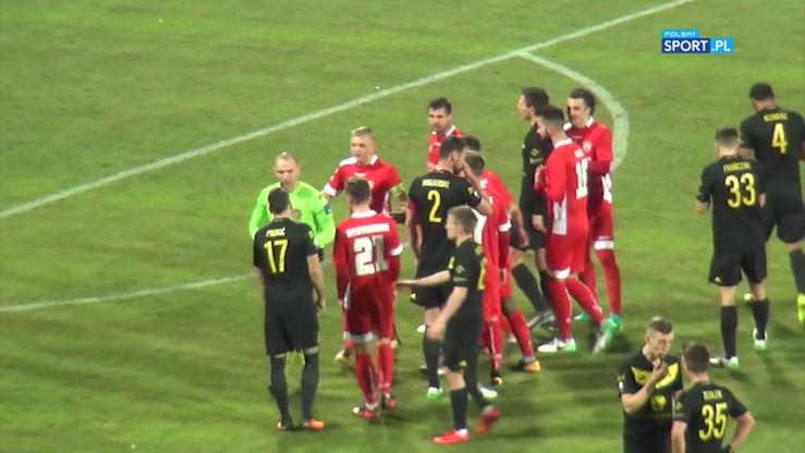 2017-11-27 GKS Katowice - Miedź Legnica 1:0. Skrót meczu