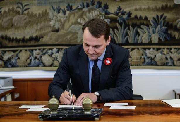 Grzeszczak: wniosek ws odwołania Sikorskiego na tym posiedzeniu Sejmu