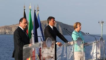 """22-08-2016 20:22 Po spotkaniu Renziego, Hollanda i Merkel: """"Europa się nie skończyła"""""""