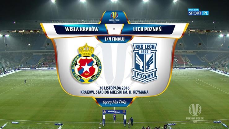 Wisła Kraków - Lech Poznań 2:4. Skrót meczu