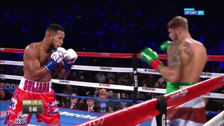 Barrera - Smith Jr. Skrót walki