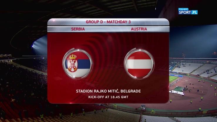 2016-10-09 Serbia - Austria 3:2. Skrót meczu
