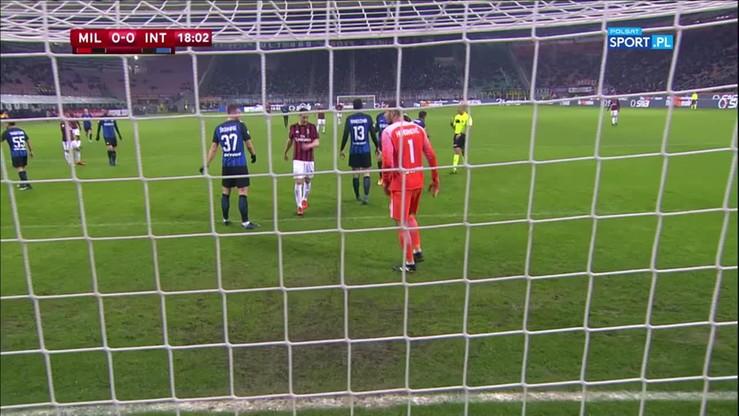 AC Milan - Inter Mediolan 1:0 po dogrywce. Skrót meczu