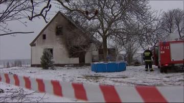 01-03-2016 11:05 Dwoje dzieci zginęło w pożarze domu w Dusznikach niedaleko Szamotuł