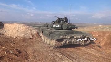 06-04-2016 19:01 Armia syryjska rozpoczęła dużą ofensywę na południe od Aleppo
