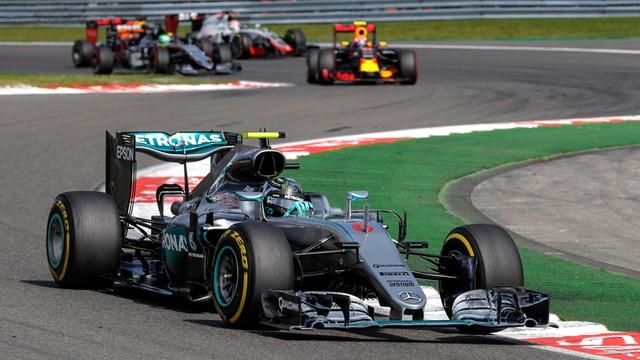 Nico Rosberg wygrał wyścig o GP Belgii