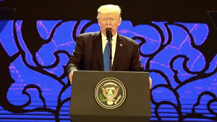 Trump promował wolny region Indii-Pacyfiku